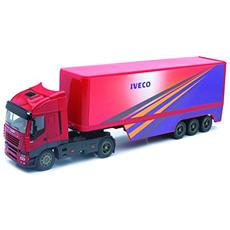 DieCast 1:32 Camion Iveco Stralis Pot Belly 40 Container 13003A