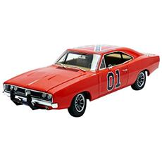 Modellino Hazzard Generale Lee Dodge Charger 1969 Scala 1:18 Diecast Autoworld