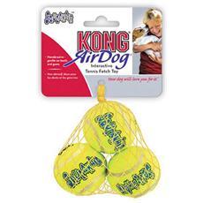 Gioco Per Cani Kong Air Dog Squeakair Balls Small 62000