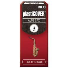 Ance Rico Plasticover Per Sax Alto Misura 3 Confezione 5 Ance