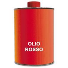 Olio Rosso per la Pulizia di di Mobili e Porte in Legno Scuro 1 Lt.
