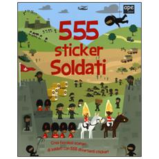 Soldati. 555 sticker. Con adesivi