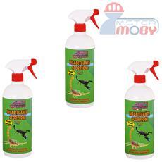 Repellente disabituante allontana anti scorpioni prodotto spray naturale 3x 1 lt
