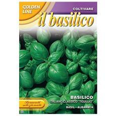 Bustina Con Semi Di Basilico Italiano Genovese Classico