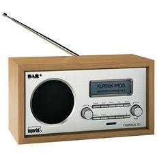 DABMAN 30, Orologio, LCD, Analogico, DAB, DAB+, FM