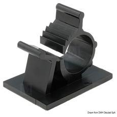 Fascetta reggicavo adesiva Ø 22/25,4 mm