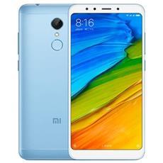 "Redmi 5 Plus Blu 64 GB 4G / LTE Dual Sim Display 5.99"" Full HD Slot Micro SD Fotocamera 12 Mpx Android Italia"