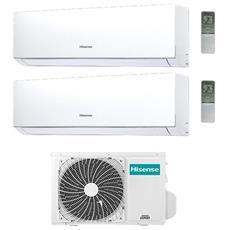Condizionatore Fisso Dualsplit hisense-DJ-42-77 New Comfort Potenza 7000+7000 BTU / H Classe A++ / A+ Inverter e Wi-Fi Predisposto