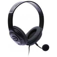 CI-389 Stereofonico Padiglione auricolare Nero cuffia e auricolare