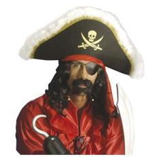 Cappello Pirata Lusso Con Fascia
