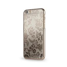 Cover mirror iphone 6 flowers gold meliconi