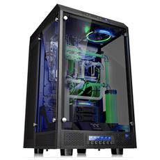 Case The Tower 900 Super Tower / Showcase E-ATX / ATX / Micro-ATX / Mini-ITX Nero (con vetro temperato)