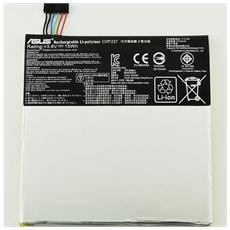 Batteria Ricambio Sostituzione 3910 Mah Asus Fonepad 7 K012 C11p1327 Fe170cg Me170 K017 K01a