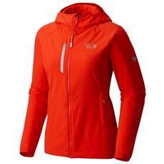 Windstopper Mountain Hardwear Super Chockstone Hooded Jacket Donna