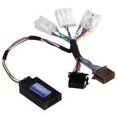 Steering Wheel Remote Control Adapter Nero cavo di interfaccia e adattatore