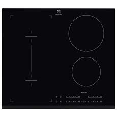 Piano Cottura EHI6540F8K a Induzione 3 Zone Cottura da 60 cm Colore Nero