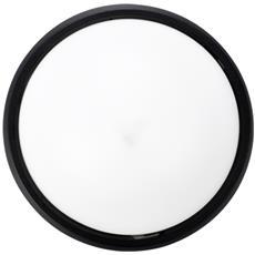 Plafoniera Led Di Colore Nero Impermeabile Ip54 Bianco Neutro 4000k