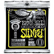3121 Rps Coated Titanium Regular Slinky 10-46
