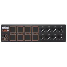 Controller USB MIDI Ultraportatile con 8 Pad Retroilluminati Nero LPD8