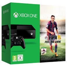 Console Xbox One 500 Gb Black + Gioco Fifa 15 Limited Bundle