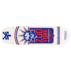 Tavola Skateboard Deck Liberty Leuge Bianco Taglia Unica