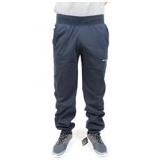 Pantalone Uomo All America Con Polsino Blu Xl