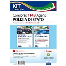 Concorso 1148 allievi agenti polizia di Stato. Manuale per la preparazione a tutte le fasi concorsuali. Kit completo. Con aggiornamento online