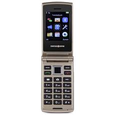 """SC700 Dual Sim Display 2,4 """" + Slot MicroSD Fotocamera 3 Mpx Colore Oro - Europa"""