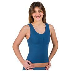 Canotta modellante con massaggio anticellulite - Taglia: L Colore: Jeans