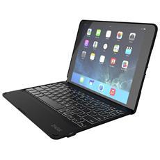 Folio, Senza fili, Bluetooth, Apple, iPad Air 2, AZERTY, Blu