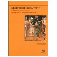 L'editto di Costantino-La donazione di Costantino. Testo greco e latino a fronte