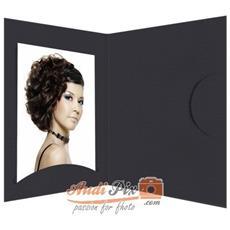 1x100 Daiber cartoncin. portafoto Opti-Line fino 10x15 cm nero