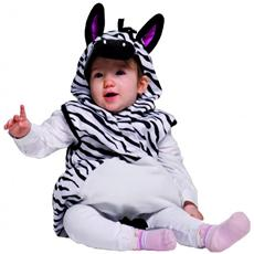 985033 Costume Carnevale Travestimento Zebra Bambina 12 Mesi