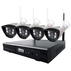 Kit Sicurezza Videocamere IP HD e NVR SEK204