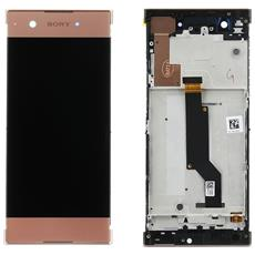 Ricambio Lcd Display Touch Frame Rose Originale Sony Per Xperia Xa1 G3121