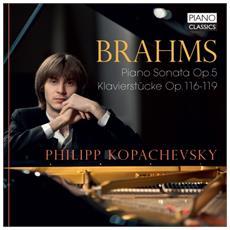 Johannes Brahms - Sonata Per Pianoforte N. 3 Op. 5, Intermezzi Op. 117, Klavierstucke Opp. 118 E 119 (2 Cd)