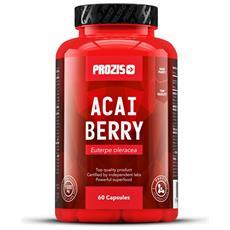 Bacche Di Acai 500 Mg 60 Capsule - Super-frutto Antiossidante Salute Cardio-