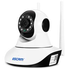 Visione Notturna Della Telecamera Escam G02 720p P2p Ip Wifi / Funzione Di Inclinazione Della Telecamera