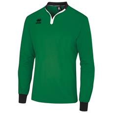 Maglietta Da Arbitro A Maniche Lunghe Unisex (xl) (verde / nero)