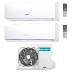 Condizionatore Fisso Dualsplit hisense-DJ-50-1212 New Comfort Potenza 12000+12000 BTU / H Classe A++ / A+ Inverter