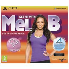 PS3 - Get Fit with Mel B + Accessori Bundle