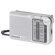 Radio Portatile Analogica AM / FM Color Argento