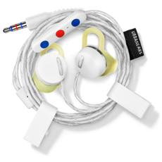Reimers Auricolare Stereofonico Cablato Bianco auricolare per telefono cellulare