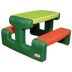 Junior Tavolo Da Picnic Verde E Arancione