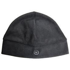 Cappello Fleece Uomo Unica Nero