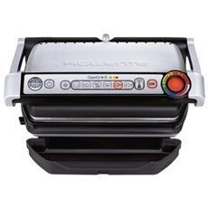 GR712D Bistecchiera Elettrica e Barbecue Potenza 2000 Watt