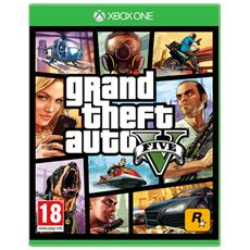 ROCKSTAR - Grand Theft Auto GTA V (Five 5) XBOX One Game