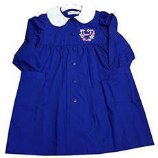 f7ffcbd5a7 PRIMO DELLA CLASSE - Grembiule Scuola Elementare Blu Per Bambina Taglia 85  - 10 Anni