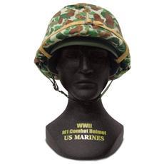 00301 Combat Helmet Us Marines Wwii M1 1/4 Modellino