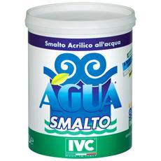 Smalto Agua Lt. 0,750 Bianco Satinato